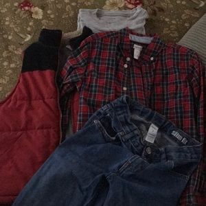 Carters fall outfit